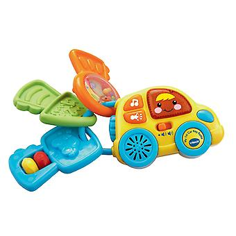 Vtech My 1st Car Key Rattle Yellow