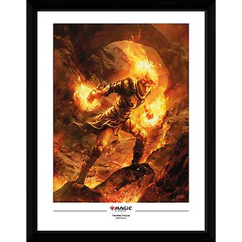Magic the Gathering Chandra Nalaar Collector Print 30.5x41cm