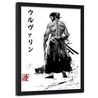 Poster In Frame, Samurai With Claws