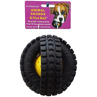 Medium Animal Sounds X-Tire Ball- XTA2