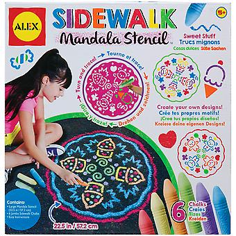 Sidewalk Mandala Kit Sweet Stuff A315 S