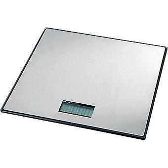 Parcel scales Maul MAULglobal Weight range 100 kg Readability 100 g battery-powered Silver