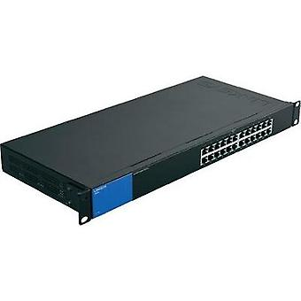 Network RJ45 switch Linksys LGS124-EU 24 ports 1 Gbit/s