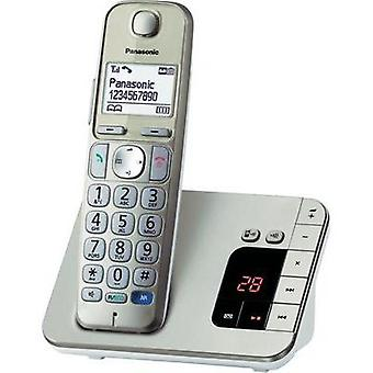 Cordless Big Button Panasonic Answerphone Backlit Champagne