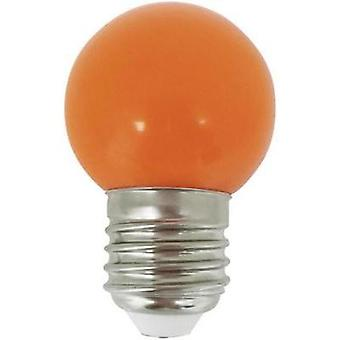 LED E27 Droplet 1 W Orange (Ø x L) 45 mm x 70 mm EEC: n/a LightMe 1 pc(s)