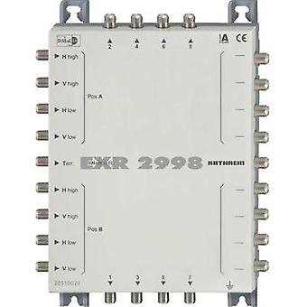 SAT cascade multiswitch Kathrein EXR 2998 Inputs (multiswitches): 9 (8 SAT/1