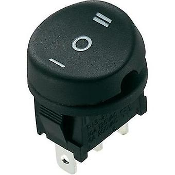 Toggle switch 250 Vac 10 A 1 x On/Off/On SCI R13-211D-02 latch 1 pc(s)
