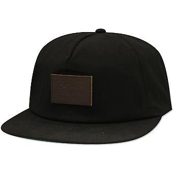 Brixton Grade LP Snapback Cap Black