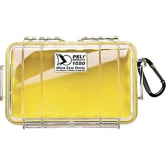 PELI Ourtdoor box 1050 1 l (W x H x D) 191 x 79 x 129 mm Yellow, Transparent 1050-027-100E