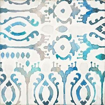 Tuile aquarelle 2 Poster Print par Norman Jr Wyatt