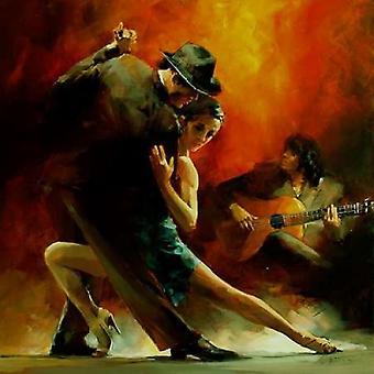 Tango Argentino III Poster stampa di Willem Haenraets