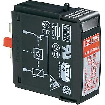 Surge arrester (plug-in) Surge prtection for: Switchboards Phoenix Contact VAL-MS 230 ST 2798844 20 kA