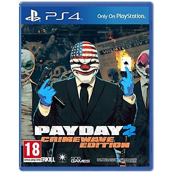 505 Games Payday 2 Crimewave Edition Ps4
