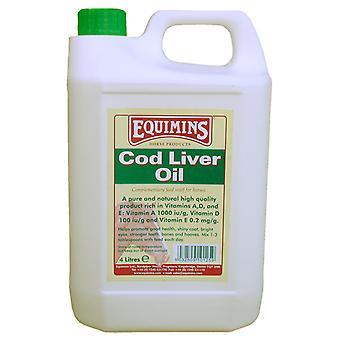 Equimins Cod Liver Oil Jerrycan 4ltr
