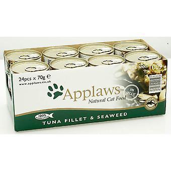 Applaws kat kan tun filet & Tang 70g (Pack af 24)