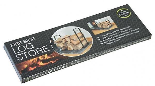 Indoor Fire Side Wood Log Store Tidy Storage Rack Holder