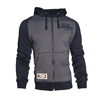 Zip Hoody Slough Lonsdale hombres