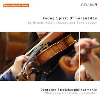 Young Spirit Of Serenades [German Philharmonic Strings Wolfgang Hentrich] [GENUIN CLASSICS: GEN16414] by German Philharmonic