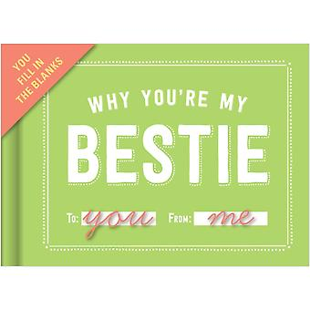 Knock Knock Why You're My Bestie Fill in the Love Journal (Fill-in-the-Blank Journal) (Diary)