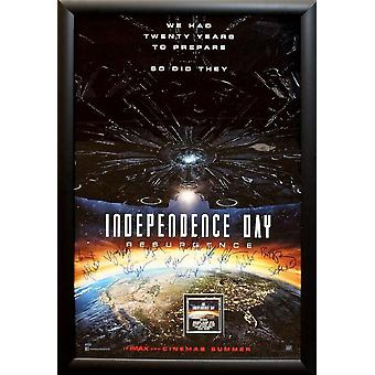 Independence Day - Signed Movie Poster