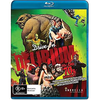 Drive in Delirium: Hi Def Hysteria - 60s & 70s Savagery [Blu-ray] USA import