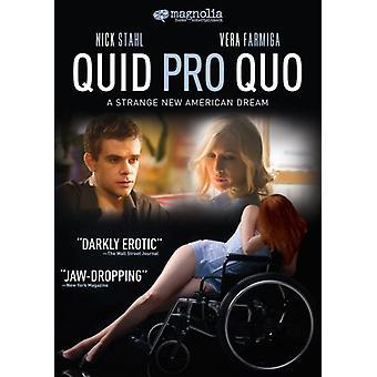 Quid Pro Quo [DVD] USA import