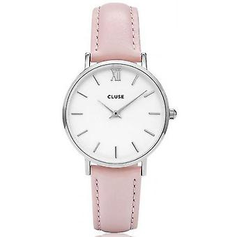 Watch Cluse midnight CL30005 - shows Silver Pink woman