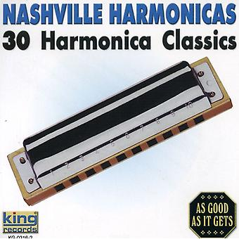 Nashville Harmonicas - 30 Harmonica Classics [CD] USA import