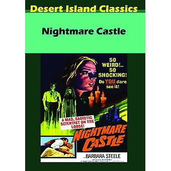 Nightmare Castle [DVD] USA import