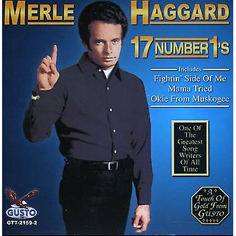 Merle Haggard - 17 Number 1s [CD] USA import