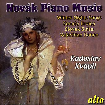 V. Novak - V Tezslav Nov K: Piano Music [CD] USA import