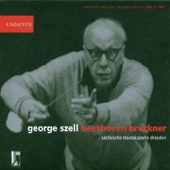 George Szell - George Szell gennemfører Beethoven, Bruckner [CD] USA importerer