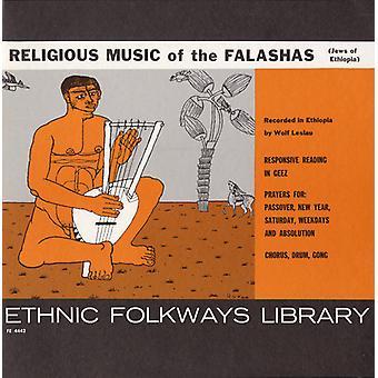 Importer de la musique religieuse des Falashas (Juifs d'Éthiopie) - musique religieuse des Falashas (Juifs d'Éthiopie) [CD] é.-u.