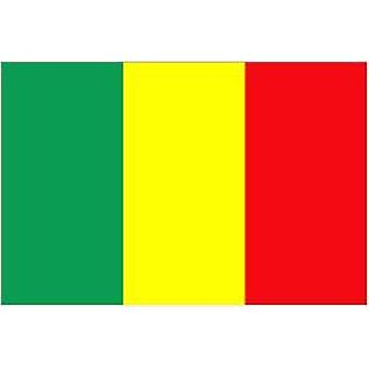 Mali Flag 5ft x 3ft With Eyelets For Hanging