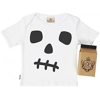 Spoilt Rotten Skullgro Toddler T-Shirt 100% Organic Cotton