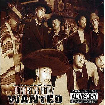 Lone Star Ridaz - ønskede [CD] USA import