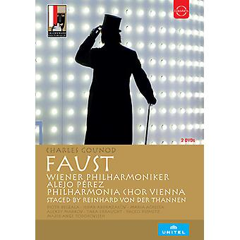 Salzburger Festspiele 2016 - Charles Gounod: Faust [DVD] USA importerer