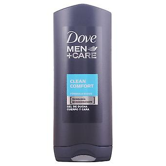 Dove Comfort Clean Men Shower Gel 400ml.
