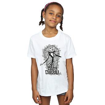 Disney jenter Nightmare før jul bein pappa t-skjorte