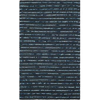 Mallawi mørke blå naturfibre tæppe - Safavieh