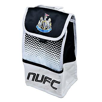 Newcastle United FC Official Fade Football Crest Design Lunch Bag