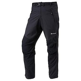 Montane Terra Pant Long Leg - Black/Black