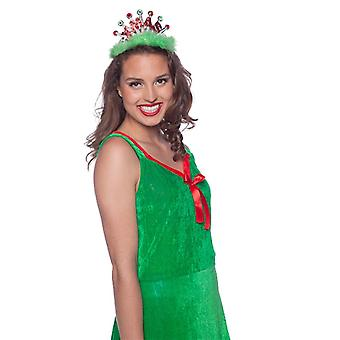 Tiara tiara Xmas Princess ladies costume