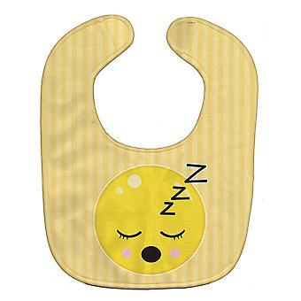 Carolines Treasures  BB8738BIB Sleeping Face Baby Bib