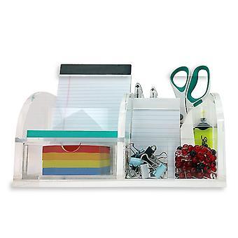 OnDisplay Sterling Deluxe Acrylic Desktop Organizer