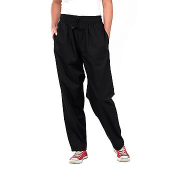 Click Chefs Trousers Black Or Chequered - Ccct