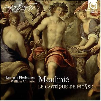 Moulinie / Vellard, Dominque - Le Cantique De Moyse [CD] USA import