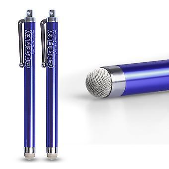Caseflex Stylus penna - blå (Twin Pack)
