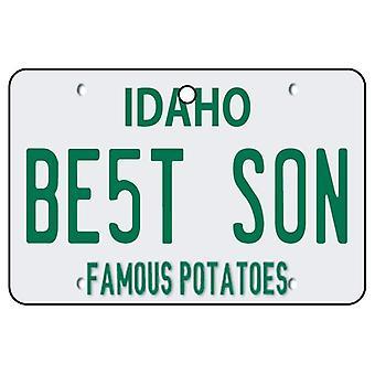 Idaho - Best Son License Plate Car Air Freshener