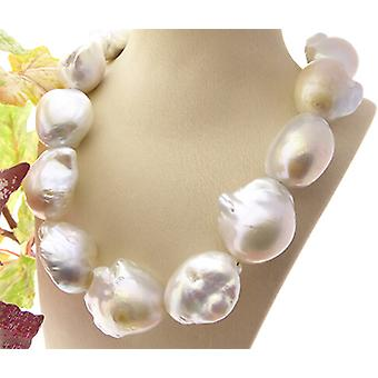 Baroque Pearl Necklace with salt sea pearls